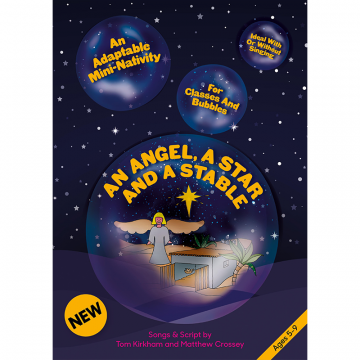 An Angel, A Star And A Stable - Nativity for Bubbles